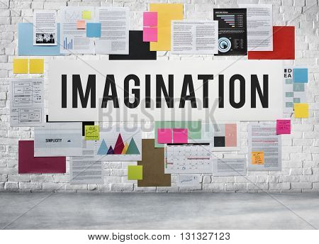 Imagination Creativity Envision Fresh Ideas Vision Concept