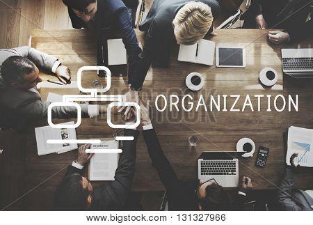 Oraganization Collaboration Company Corporate Concept