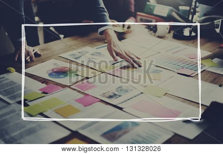 Business Brainstorming Creativity Planning Concept