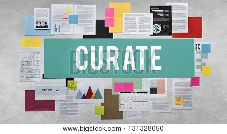 Curate Background Board Texture Grungy Design Concept