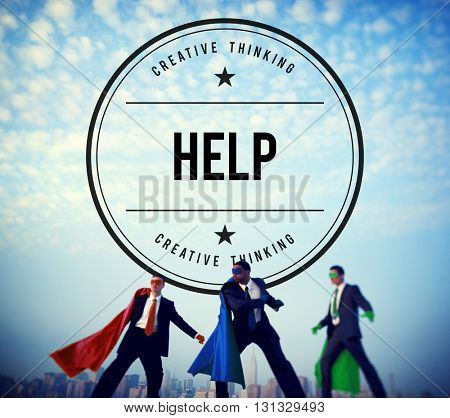 Help Helping Hand Assistance Charity Concept