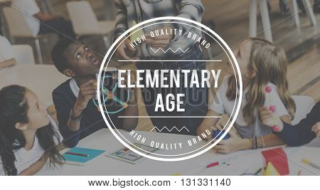 Elementary Adolescence Child Generation Concept