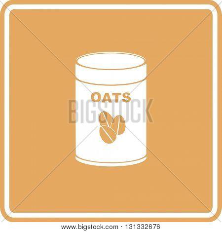 oats bottle sign