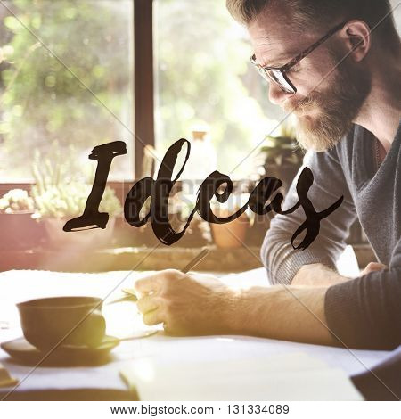 Ideas Creativity Thoughts Imagination Inspiration Plan Concept