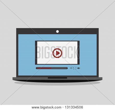 TV entertainment design, vector illustration eps10 graphic