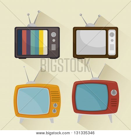 TV entertainment design, vector illustration eps10 graphic