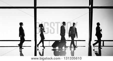 Business People Travel Office Concept