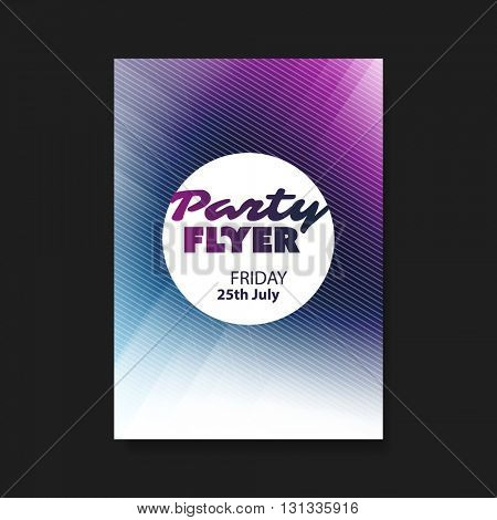 Party Flyer or Cover Design