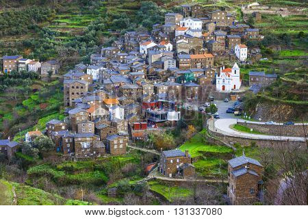 Piodao - beautiful traditional village in mountains, Portugal