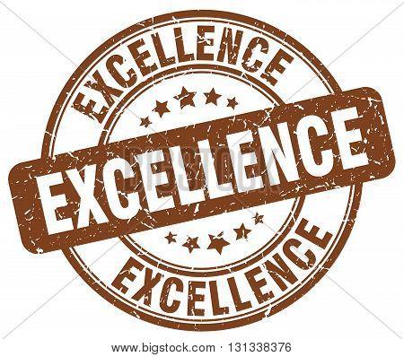 excellence brown grunge round vintage rubber stamp.excellence stamp.excellence round stamp.excellence grunge stamp.excellence.excellence vintage stamp.