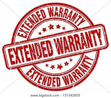 extended warranty red grunge round vintage rubber stamp.extended warranty stamp.extended warranty round stamp.extended warranty grunge stamp.extended warranty.extended warranty vintage stamp.