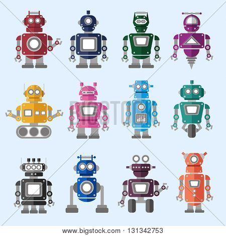 Robotics Technology System Icon Vector