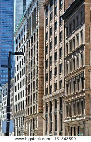 Boston Old Architecture