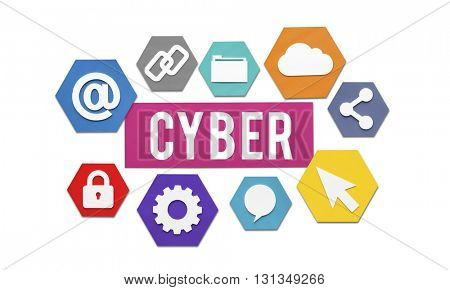 Cyber Online Technology Internet Concept