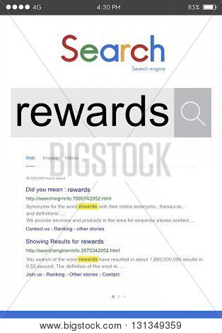 Rewards Motivational Profit Salary Benefit Budget Concept