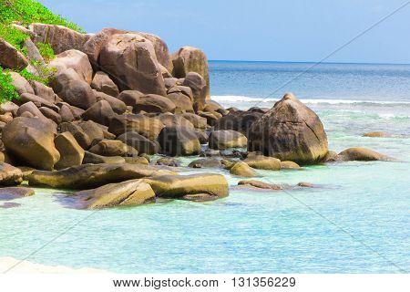 Rocks Ocean Summer