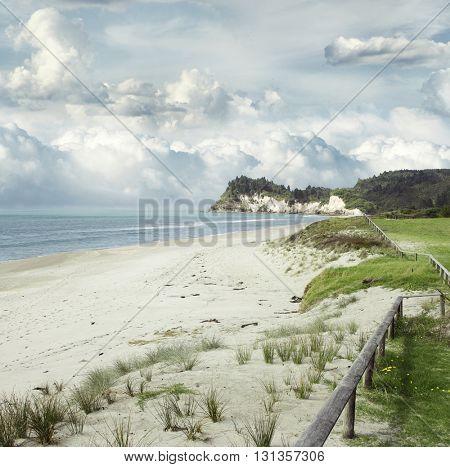 Beach and coastline, North Island, New Zealand