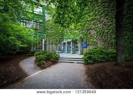 Kerr Hall, At Ryerson University, Toronto, Ontario.