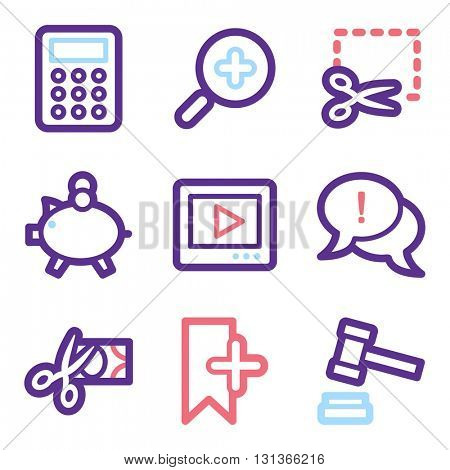Shopping icon, on-line shop vector web sign.  Sale icon flat. Design mobile icon, vector pictogram. e-commerce infographics symbols.
