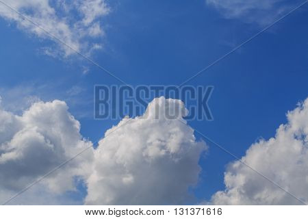 Sky clouds sky with clouds. Synoptics. Good weather