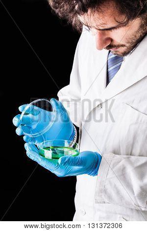 Opening A Petri Dish
