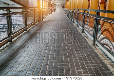 urban city architectural platform bridge