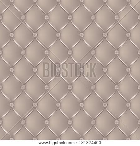 Vector abstract upholstery beige background. Can be used in cover design book design website background CD cover advertising