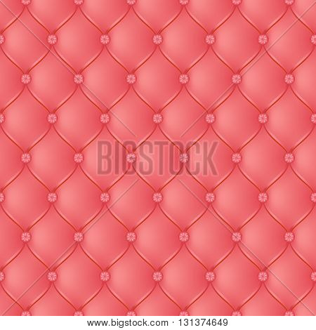 Vector abstract upholstery light red background. Can be used in cover design book design website background CD cover advertising.