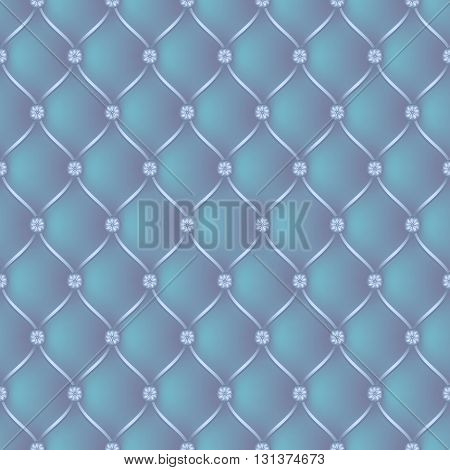 Vector abstract upholstery blue background. Can be used in cover design book design website background CD cover advertising.