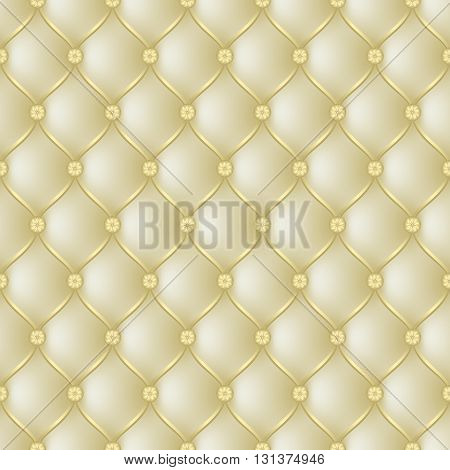 Vector abstract upholstery beige background. Can be used in cover design book design website background CD cover advertising.