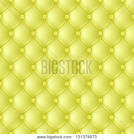 Vector abstract upholstery yellow background. Can be used in cover design book design website background CD cover advertising