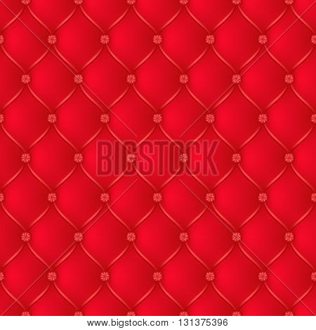 Vector abstract upholstery red background. Can be used in cover design book design website background CD cover advertising.