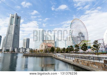 Yokohama cityscape