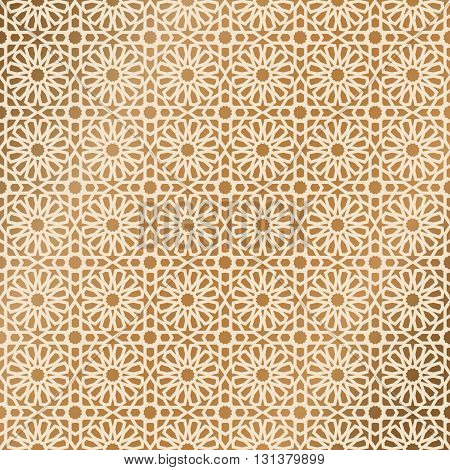 Ornamental seamless pattern. Vector flat background. Oriental seamless ornament. Traditional seamless vector ornament. Arabic traditional pattern. Traditional ottoman motifs.