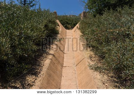 Water Drainage Ditch