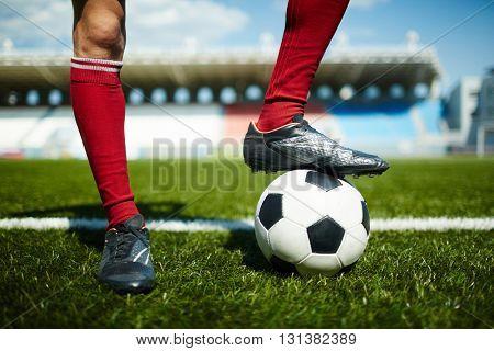 Successful footballer