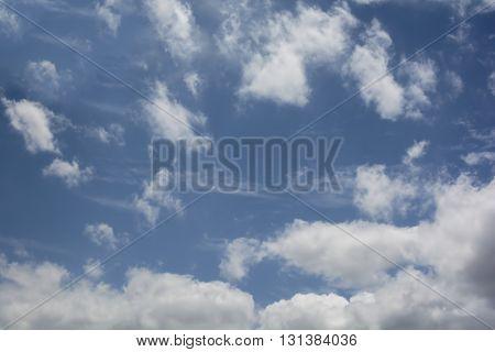 Blurry Cloud In The Sky
