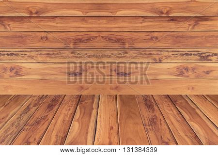 Golden wood texture background. plank wood for backdrop photo.