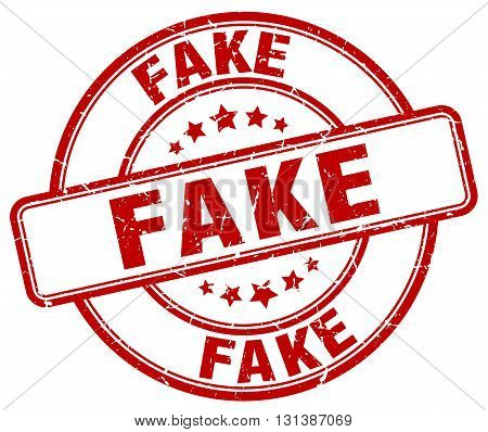 fake red grunge round vintage rubber stamp.fake stamp.fake round stamp.fake grunge stamp.fake.fake vintage stamp.