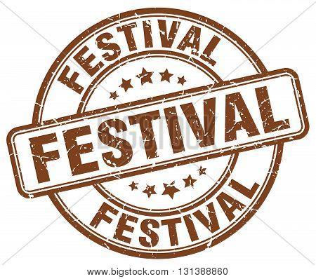 festival brown grunge round vintage rubber stamp.festival stamp.festival round stamp.festival grunge stamp.festival.festival vintage stamp.