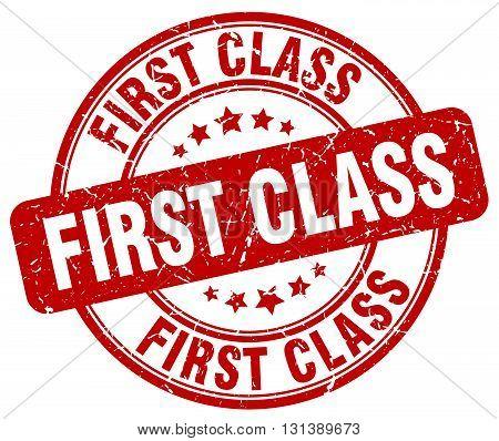 first class red grunge round vintage rubber stamp.first class stamp.first class round stamp.first class grunge stamp.first class.first class vintage stamp.