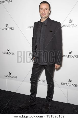 New York City USA - May 24 2016: Executive board member Robert Buchbauer attends Swarovski #bebrilliant event at The Weather Room - Rockefeller Center