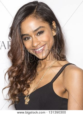New York City USA - May 24 2016: Vashtie Kola attends Swarovski #bebrilliant event at The Weather Room - Rockefeller Center