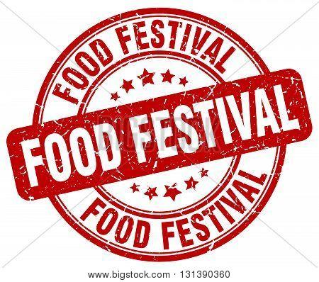 food festival red grunge round vintage rubber stamp.food festival stamp.food festival round stamp.food festival grunge stamp.food festival.food festival vintage stamp.