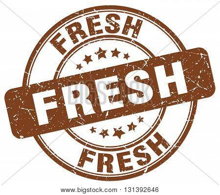 fresh brown grunge round vintage rubber stamp.fresh stamp.fresh round stamp.fresh grunge stamp.fresh.fresh vintage stamp.