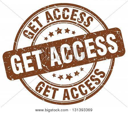 get access brown grunge round vintage rubber stamp.get access stamp.get access round stamp.get access grunge stamp.get access.get access vintage stamp.