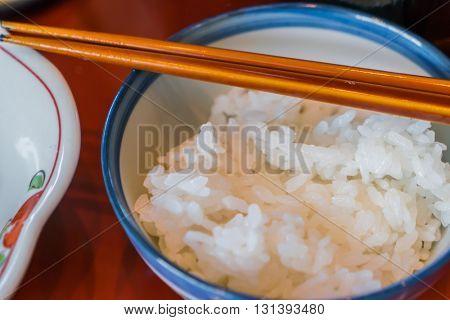 Traditional Japanese breakfast of Takayama,Japan