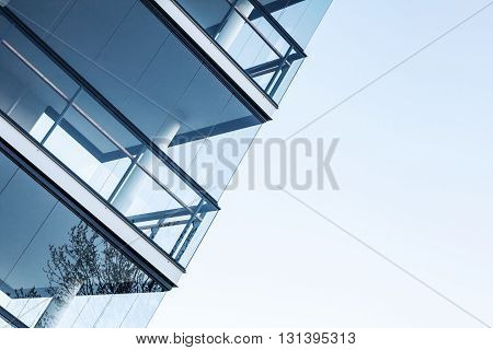 Walls Made Of Glass And Concrete Floors