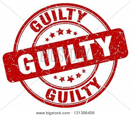 guilty red grunge round vintage rubber stamp.guilty stamp.guilty round stamp.guilty grunge stamp.guilty.guilty vintage stamp.
