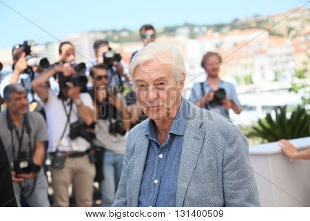 CANNES, FRANCE - MAY 21: director Paul Verhoeven attends the 'Elle' Photocall during the 69th annual Cannes Film Festival at the Palais des Festivals on May 21, 2016 in Cannes, France.